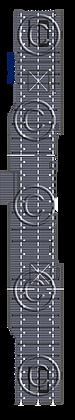 CV-10 Yorktown MS blue 1-1800 scale