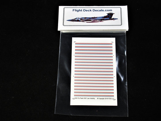 RAF Modern Low Visibility Fin Flash 1-300 decals