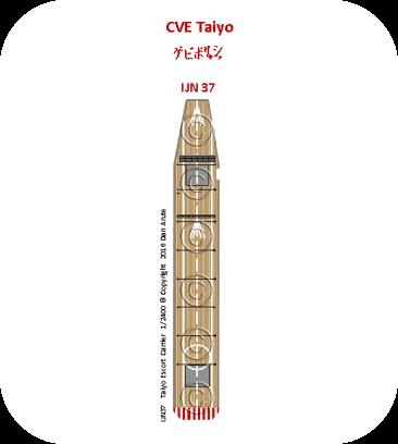 IJN 37 CVE Taiyo: standard deck version