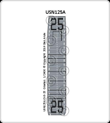 USN125a CVE-25 Croatan