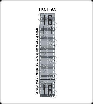 USN116a CVE-16 Nassau