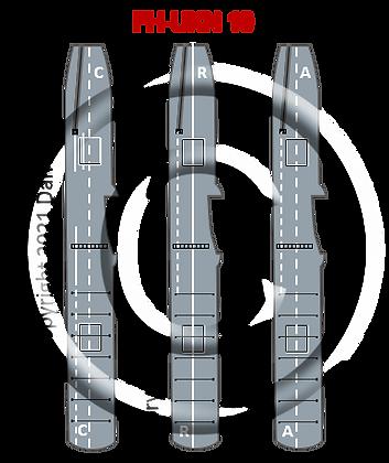 6K RN WWII  Colossus, Glory & Vengeance CV