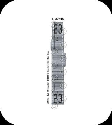 USN23 CVL-23 Princeton