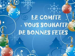 Bonnes fêtes !