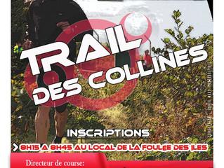 Samedi 9 septembre: Trail des collines