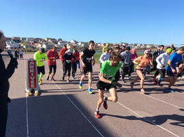 Départ du semi-marathon et 10km 2018