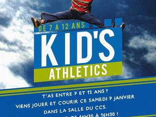 Kid's athletic ce samedi 7 janvier !