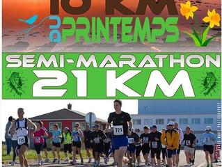 Semi Marathon ou 10 km du printemps