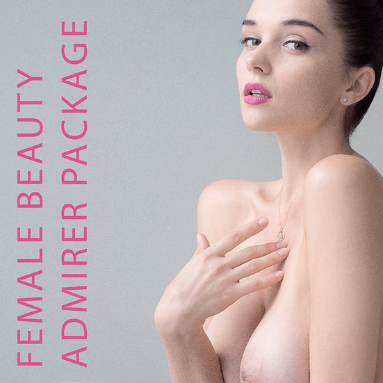 Female Beauty Admirer Package / 3600px, Small Watermark