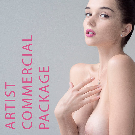 Artist Commercial Package / Full-Res, No Watermark, Sell your own Art