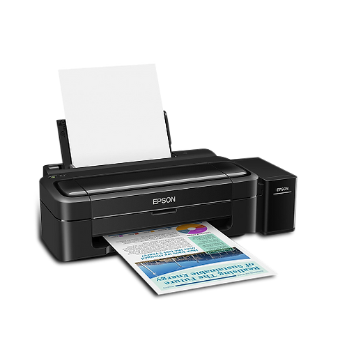 Epson Printer L130-Print/A4/10PPM/Ink T6641/Colored