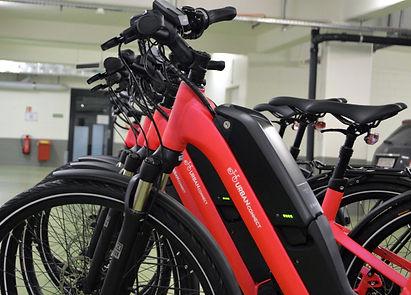 urban connect e-bike fleet supplier for companies