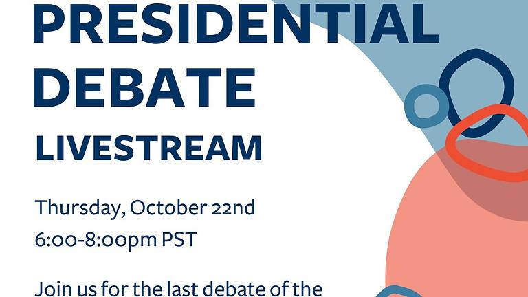 3rd Presidential Debate Livestream