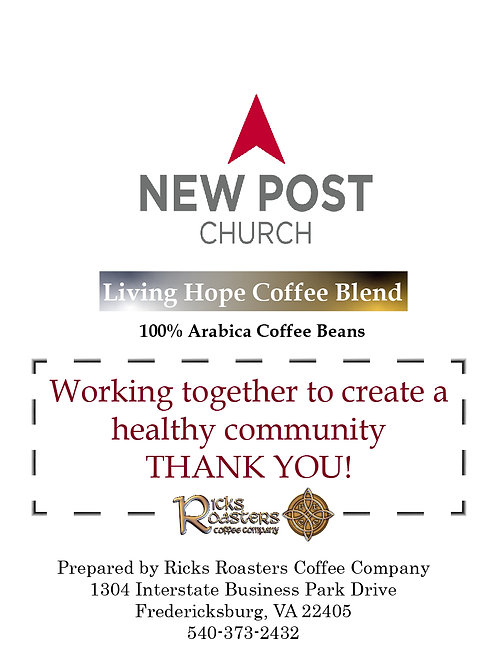 New Post Church- Living Hope Blend