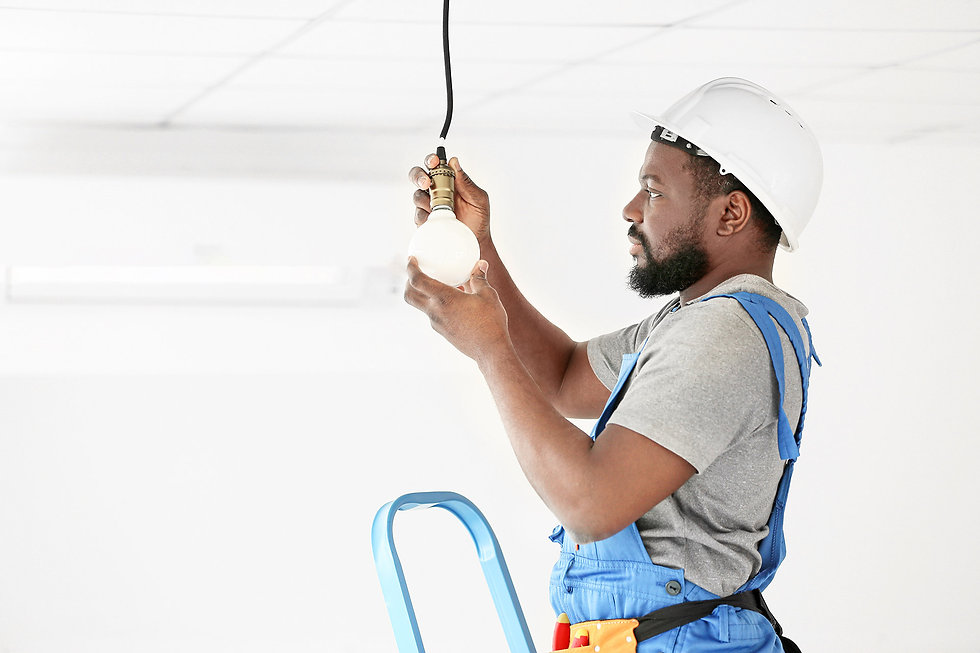 Amptex qualified electricians on standby 24 hours a day for any electrical emergency service
