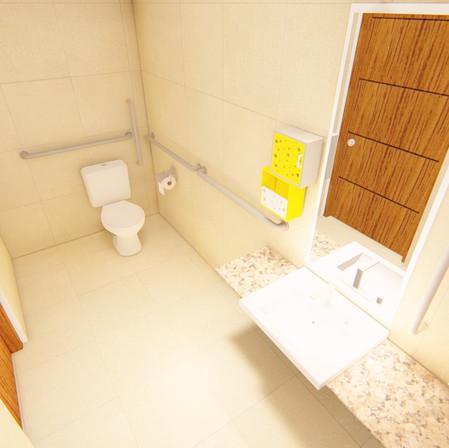 Banheiro Câmara Municipal de Francisco Morato/SP