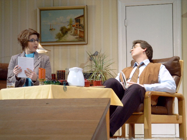"Joanna Smart in ""Ein fast perfekter Abgang"""