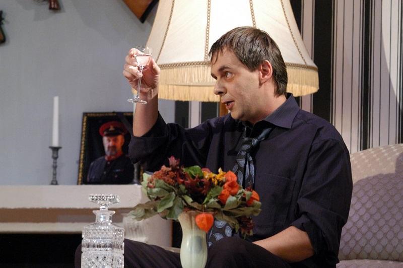 """Robert Malmgren in """"Asche und Aquavit"""""""