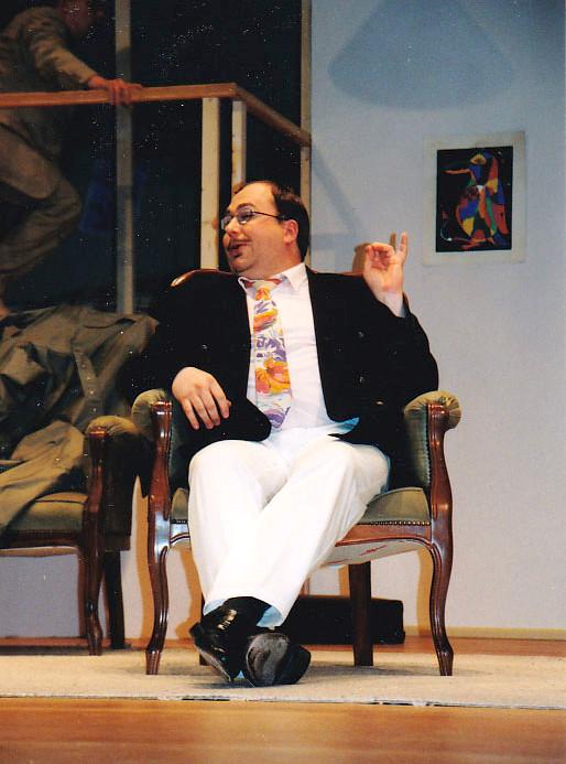 """Harold Gorringe in """"Komödie im Dunkeln"""""""
