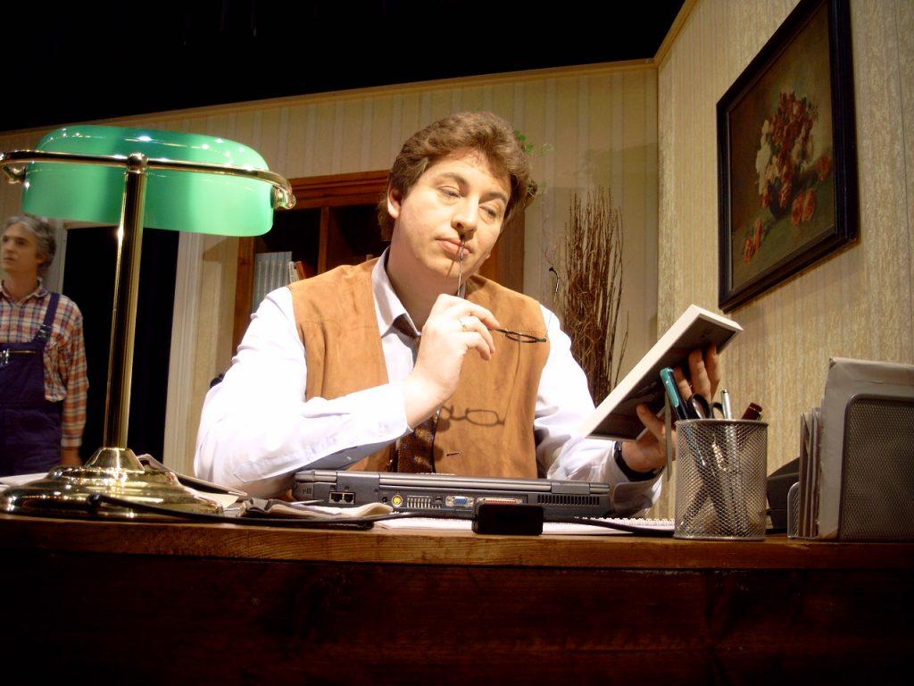 "Prof. David Freeman in ""Ein fast perfekter Abgang"""