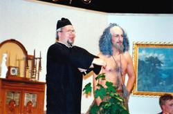 """Sir Mallaien St. John Fitzbuttress in """"Halb auf dem Baum"""""""