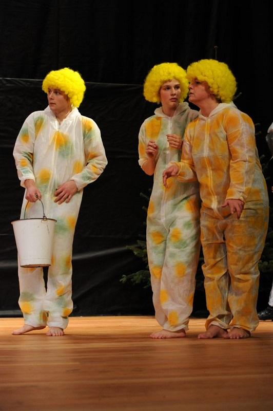 """Feldmaus/Mümmler und Winkies in """"der Zauberer von Oz"""""""