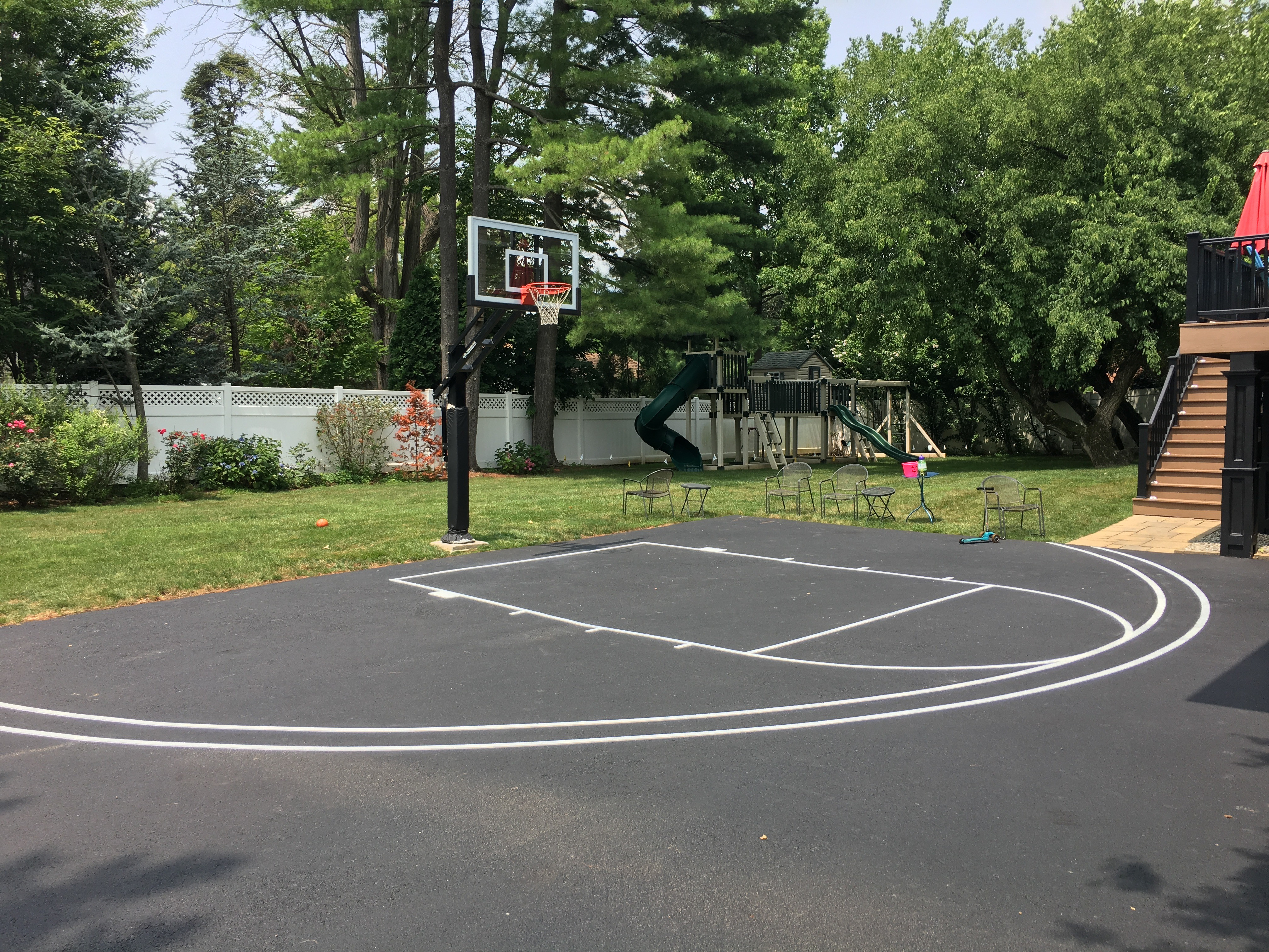 Half Court (Regular & NCAA 3-Pt Lines)