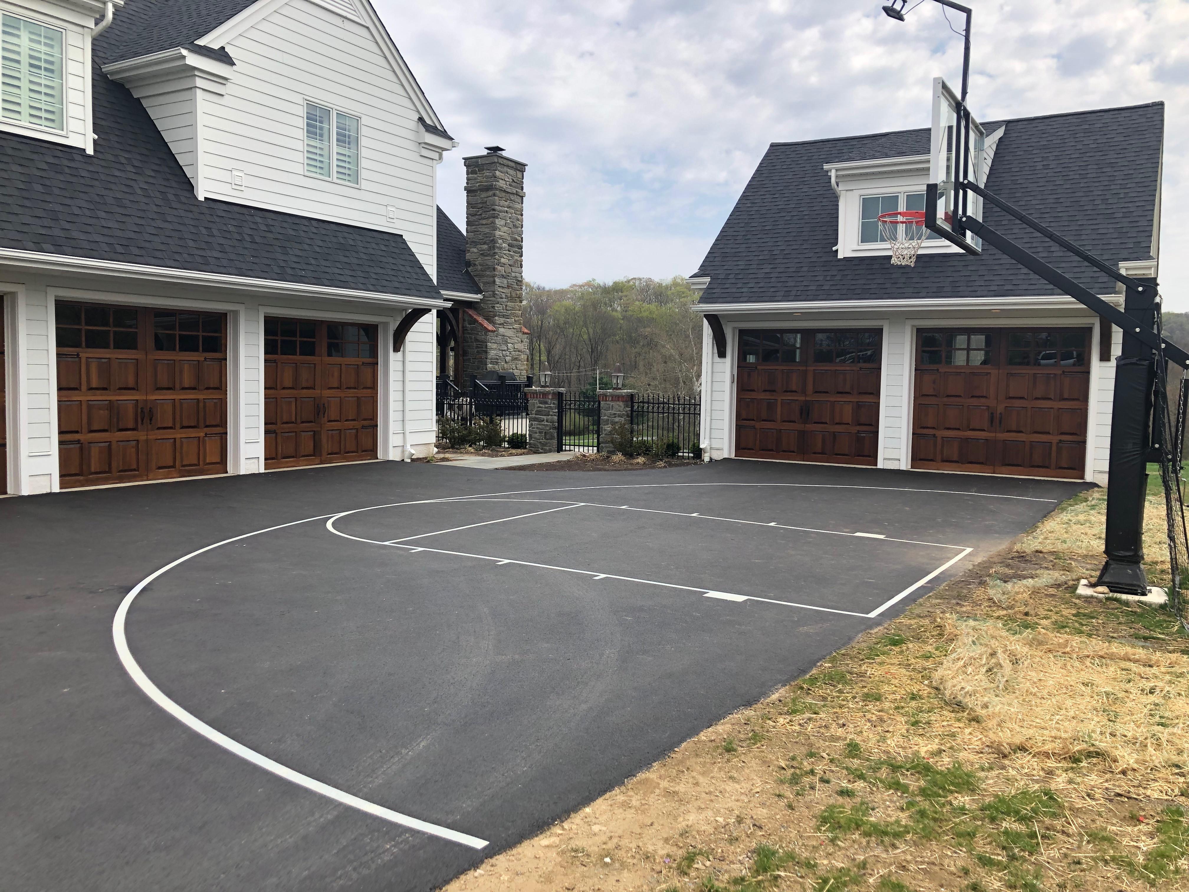 Half Basketball Court (High School)