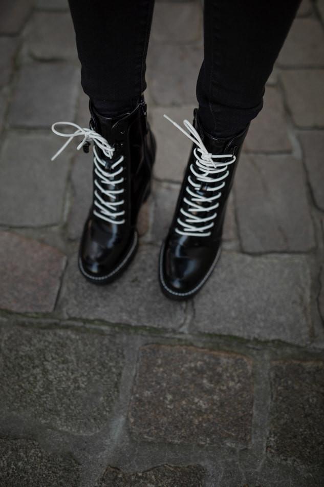 Bershka black shoes