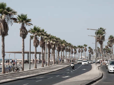 T like traveling... and Tel Aviv