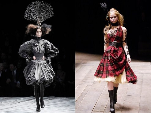 McQueen catwalk show - collection 2008 & 2009