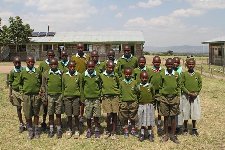 Our school project in rural Kenya