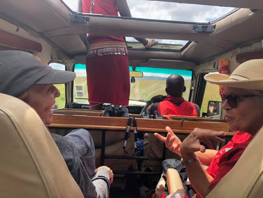 Game Drive with the Masai
