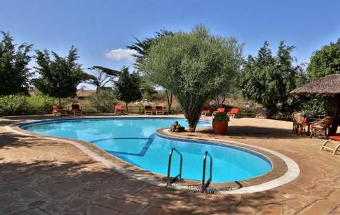 Pool at Kibo Camp