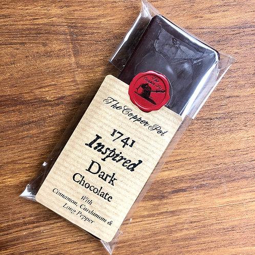 1741 Inspired Dark Chocolate Bar