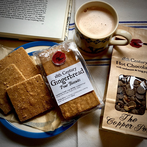 18th Century Hot Chocolate & Gingerbread Offer