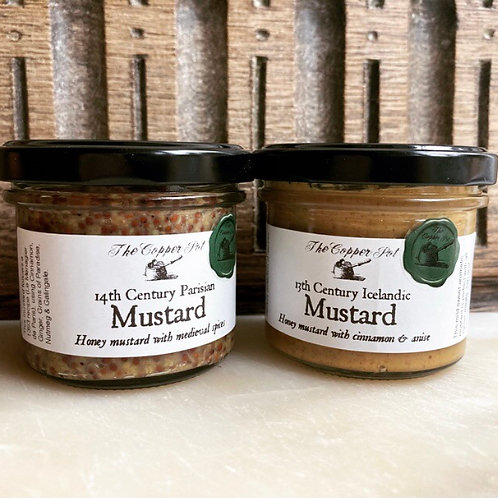 13th & 14th Century Mustard Set