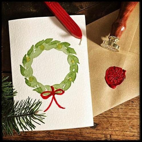 Christmas Card (Wreath)