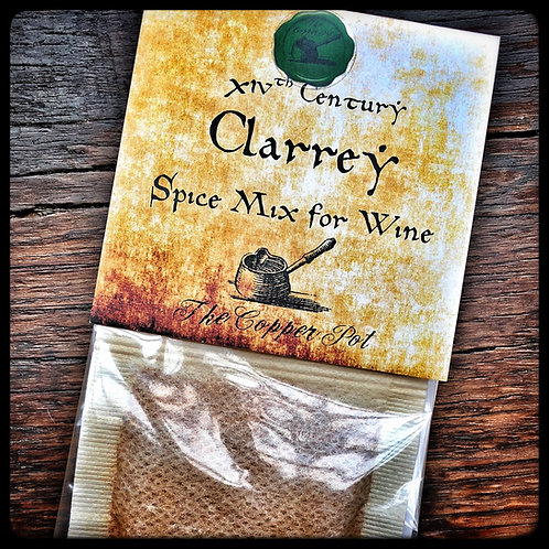 14th Century Clarrey (Spice Mix for Wine)