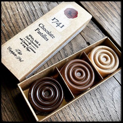 1741 Chocolate Pastilles