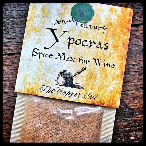 14th Century Ypocras (Spice Mix for Wine)