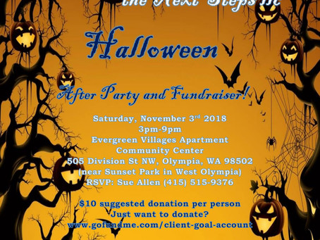 We're having a Halloween Party!