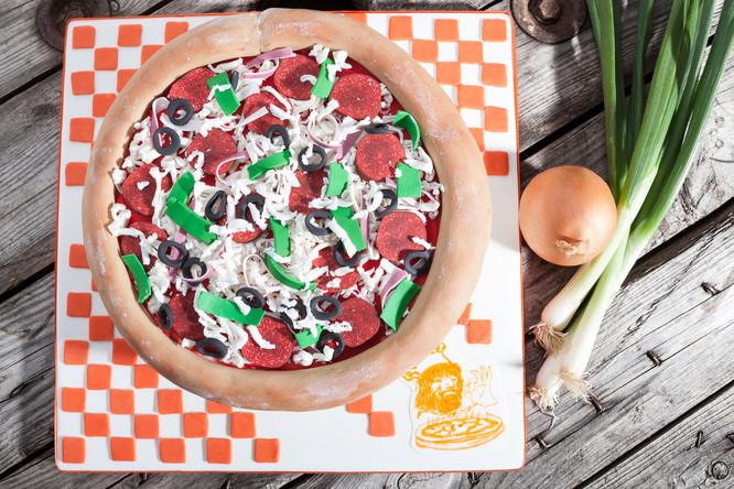 Culinaire - Gateau pizza