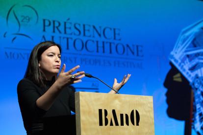 Natasha Kanapé Fontaine Présence autochtone
