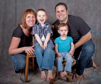 Portrait studio famille
