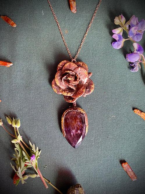 Rose, Super-7 Venusian Power Necklace