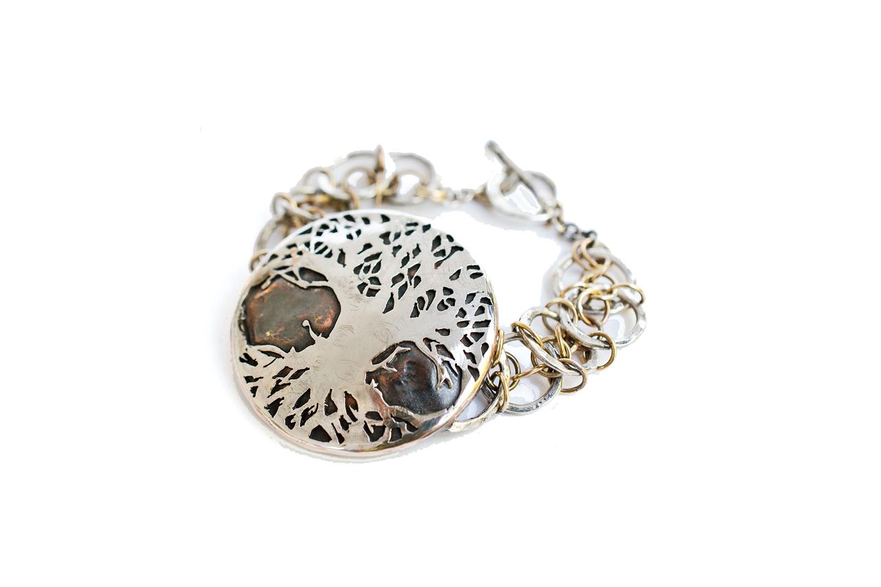 Custom Yggdrasil Bracelet