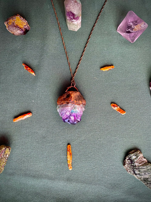 Amyethyst Necklace