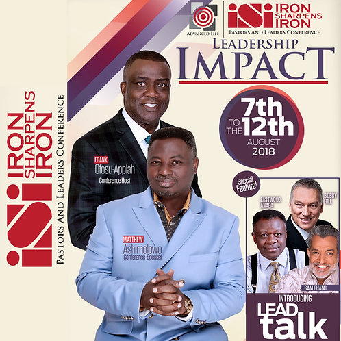 ISI 2018: Leadership Impact