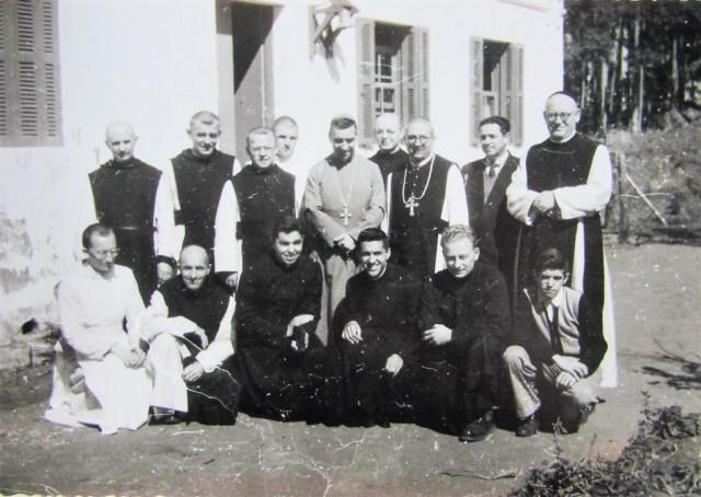 Comunidade da Abadia de Itatinga com D. Henrique Golland Trindade